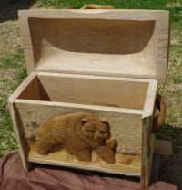 Mother Grizzly Chest
