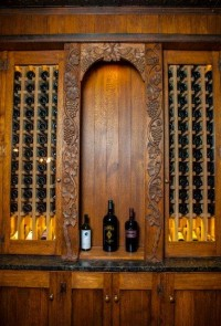 Grape Vine – Wine Cooler Front