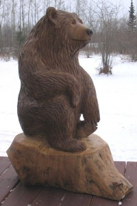 Sitting Fall Bear