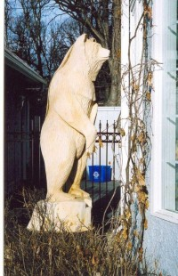 What's For Supper? – 10 Foot Grizzly At Dining Room Window