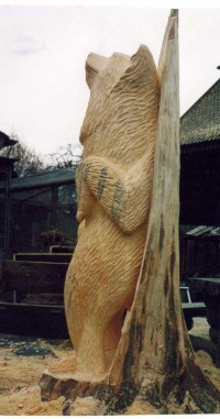 Scratching Bear – 10 Foot