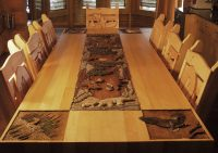 """Dining Room Table """"Call Of The Wild"""""""