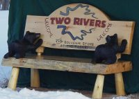 Bear Cub Bench
