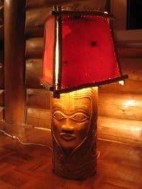 Birch Princess Lamp