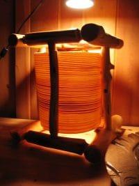Log House Lamp