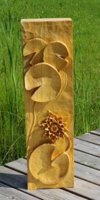 Water Lily Relief